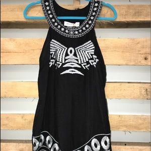 UrbanMangoz tank style lined dress. Blk or Tan